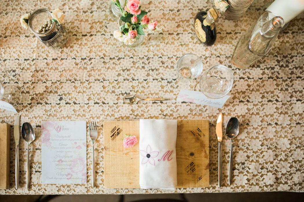 Table 4 You, Sfeervolle Tafels met Persoonlijke Tafeldecoratie
