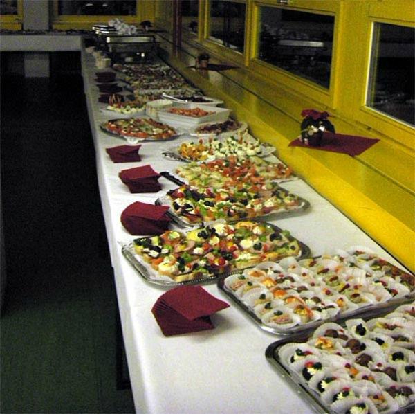 Beispiel: Buffet, Foto: Hotel Restaurant Igel.