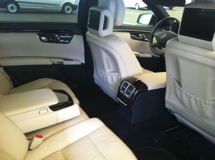 Beispiel: Interieur Limousine, Foto: G&P Limousinenservice.