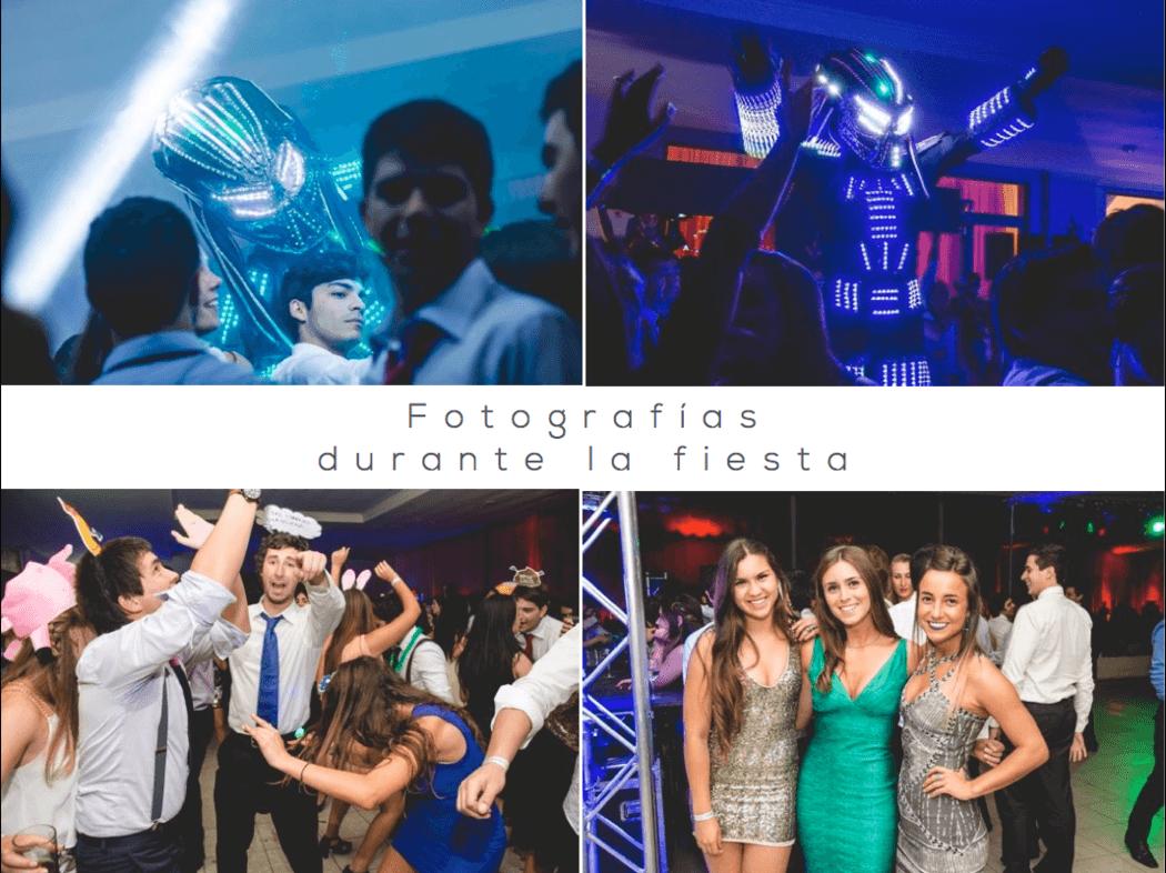 Fotografías durante la Fiesta