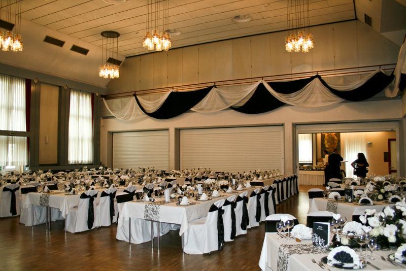 Beispiel: Dekoration Ihrer Hochzeitslocation, Foto: Hussen und mehr...