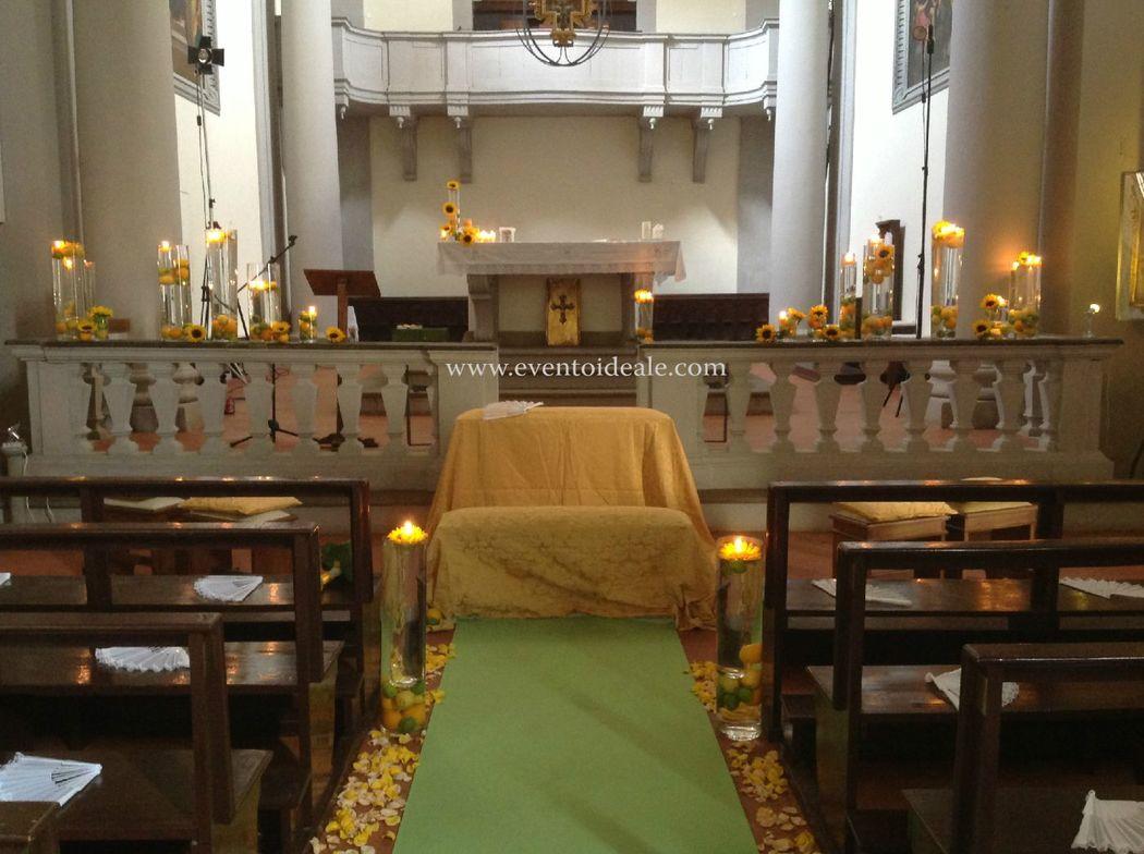 Evento Ideale: Allestimento Chiesa