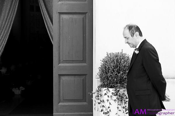 L'attesa della sposa, il Papà