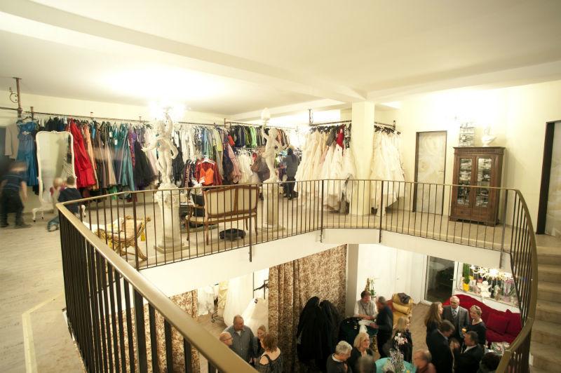 Beispiel: 1.Stock, Foto: Brautmoden mit Herz - Elke Derks.