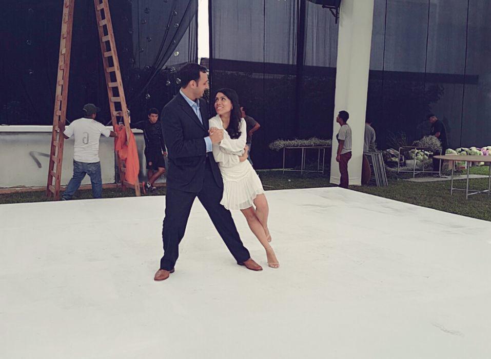 Cada instante bailando se debe disfrutar...asi lo lograron nuestros alumnos Gisell & Joseph