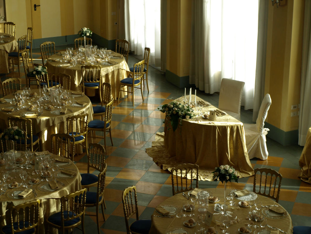 Il tavolo degli Sposi nella Sala della Dama