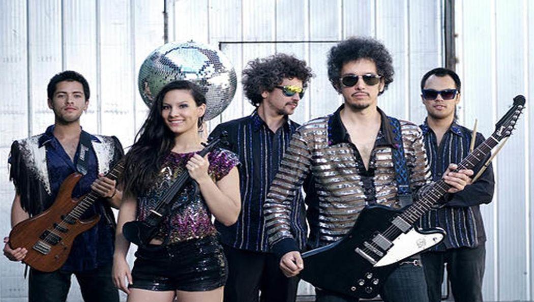 Banda covers hits bailables