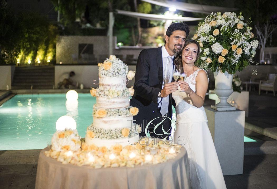 Wedding Cake - Naked Cake