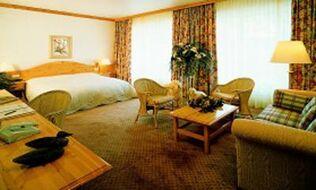 Beispiel: Deluxe-Zimmer, Foto: Eden Parc Hotel.