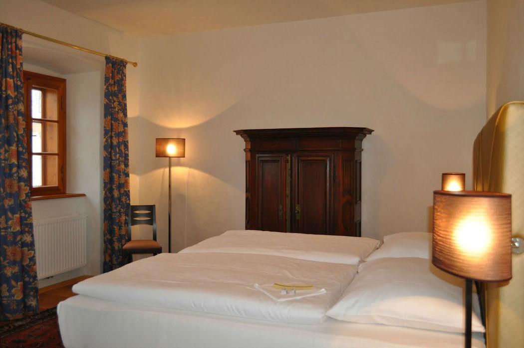 Pfarrhof-Zimmer, Foto: Schlosshotel Mailberg.