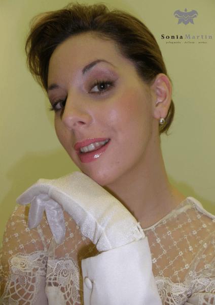 Maquillaje y recogido bajo