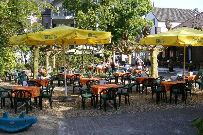 Beispiel: Biergarten, Foto: Gasthof Loers.