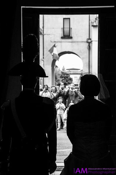 L'uscita dalla chiesa