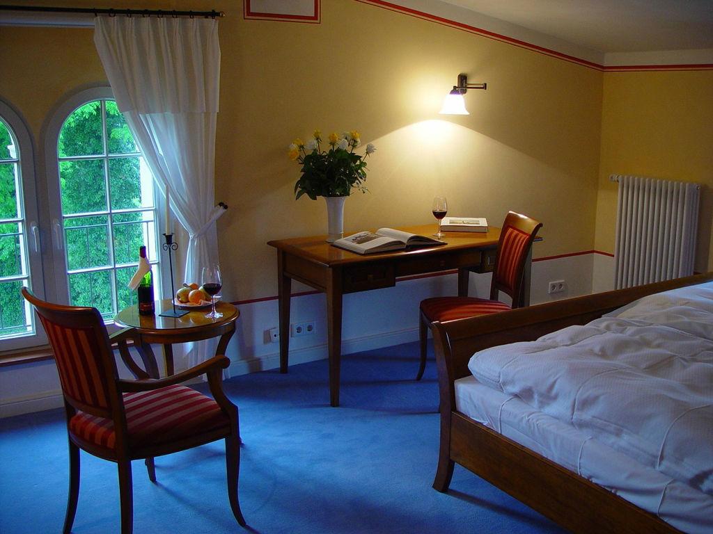 Beispiel: Zimmer, Foto: Kavalierhaus Caputh.