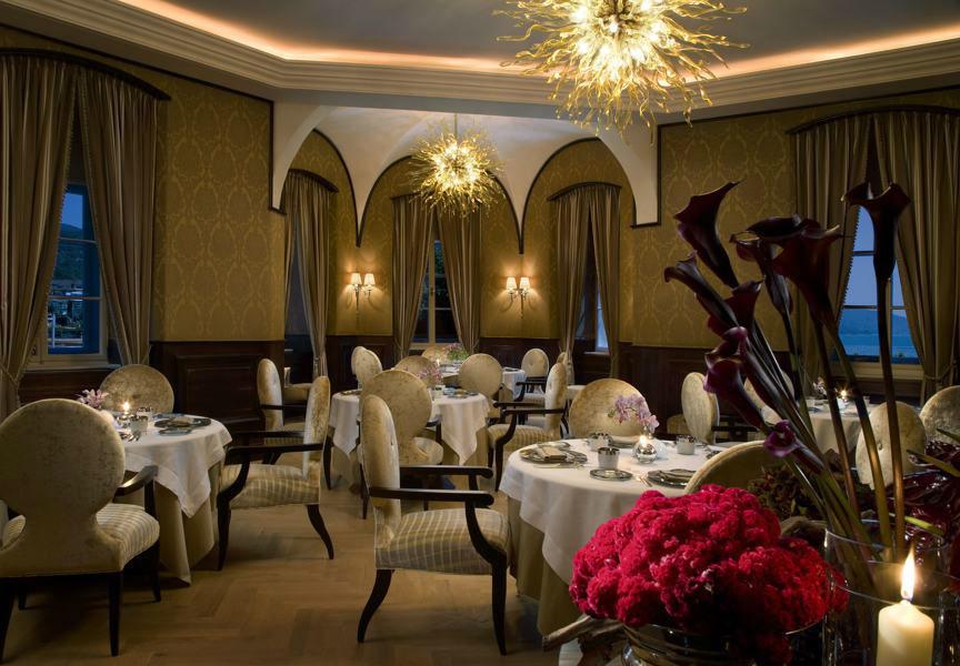 Foto: Restaurant im Schlosshotel Falkensteiner