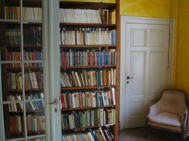 Beispiel: Bibliothek, Foto: Schloss Beesenstedt.