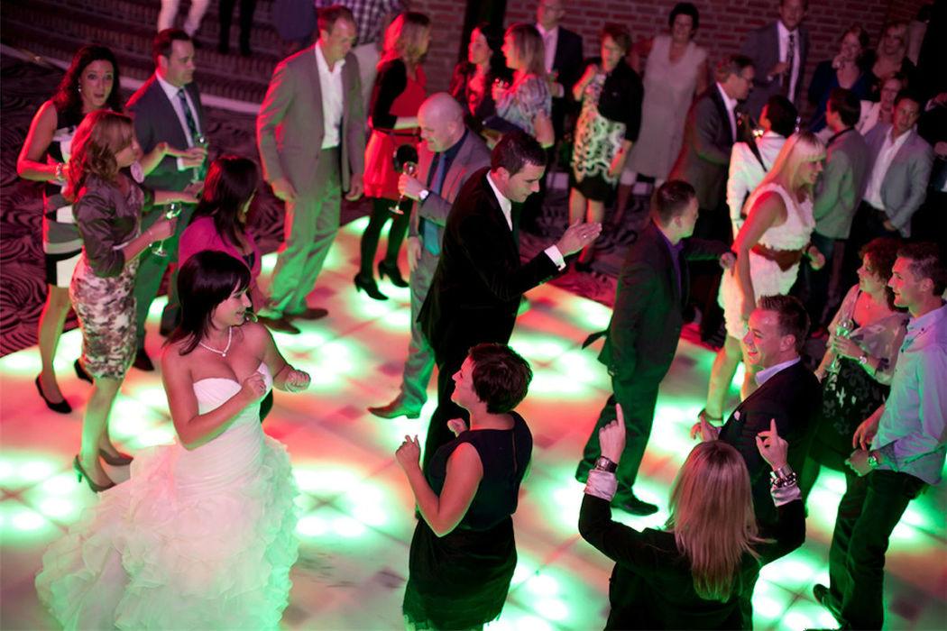 De foyer is een bijzondere ruimte voor een swingend feest.