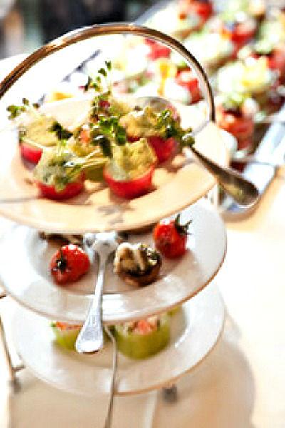 Beispiel: Leckere Apetizer, Foto: Marktwirt Catering.
