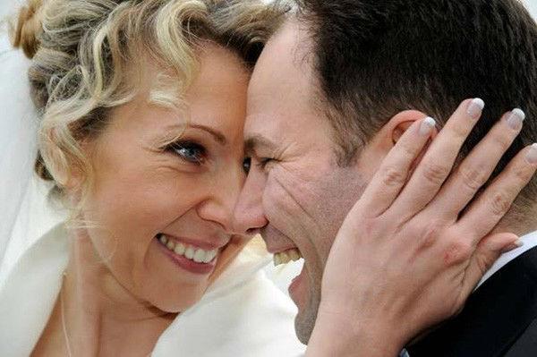 Beispiel: Braut Make-up, Foto: Welt der Schönheit.