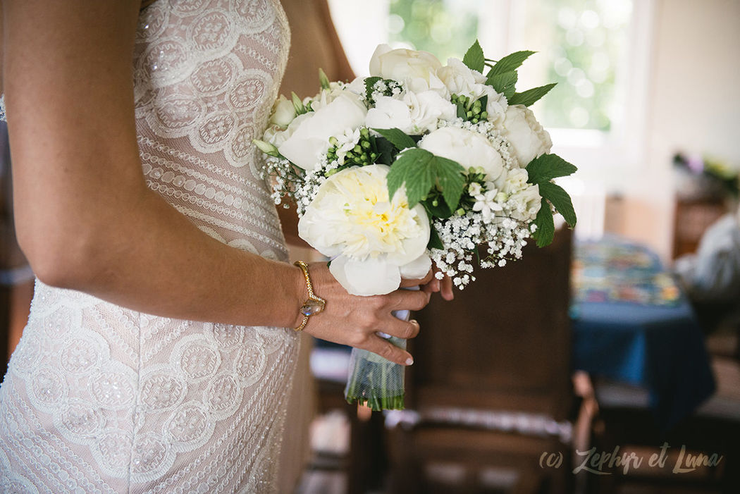 Genevieve & Jay - The bride's bouquet