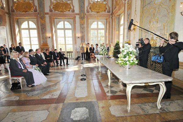 Beispiel: Trauung, Foto: Die Hochzeitsplaner.