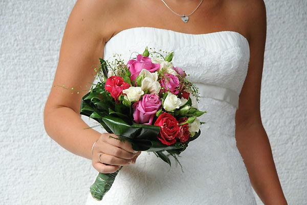 Beispiel: Brautstrauß, Foto: Durchgeplant.