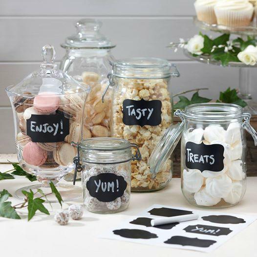 Detalles para personalizar tu mesa de chuches.
