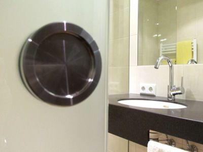 Beispiel: Badezimmer, Foto: AKZENT Landgasthof Evering.