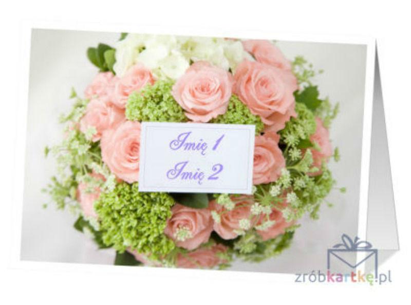 Klasyczna kartka ślubna