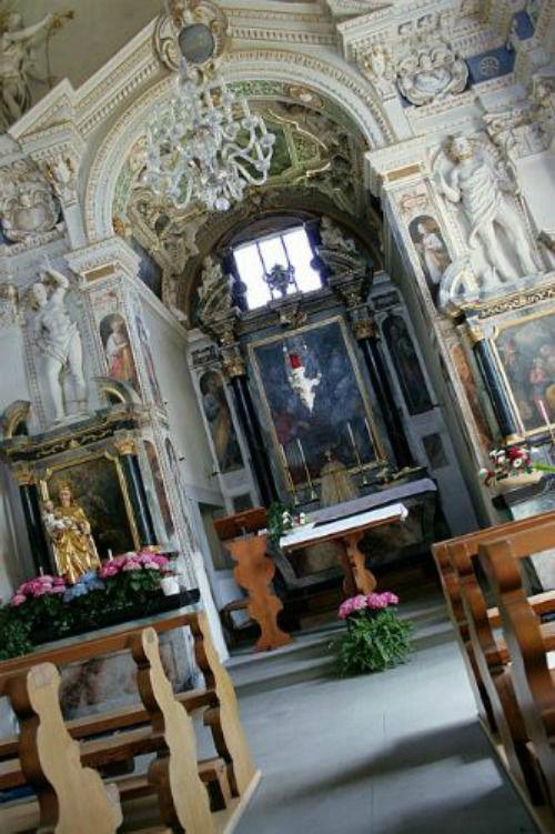 Beispiel: Kapelle, Foto: Schloss Böttstein.