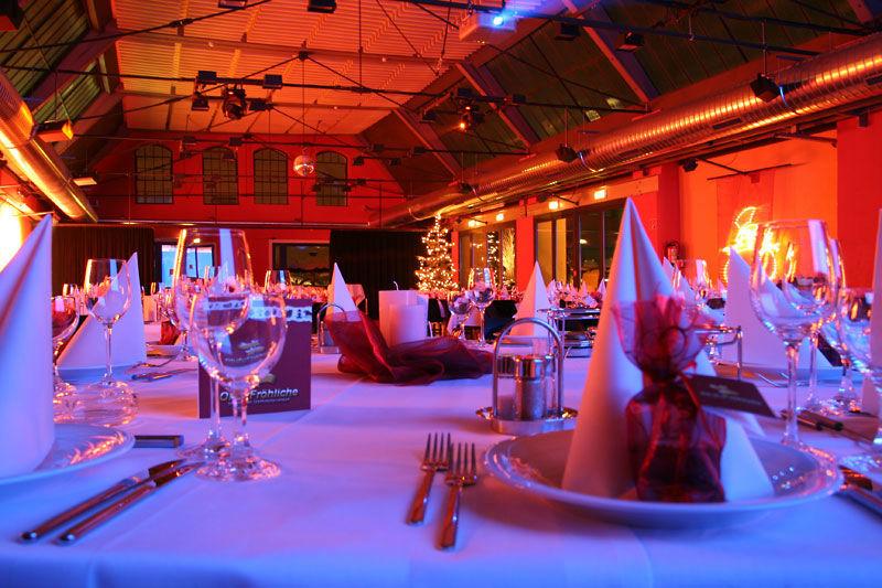 Beispiel: Tischdekoration, Foto: Otten Gravour.