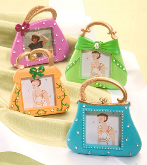Beispiel: Bilderrahmen Handtasche, Foto: My Bridal Shower.