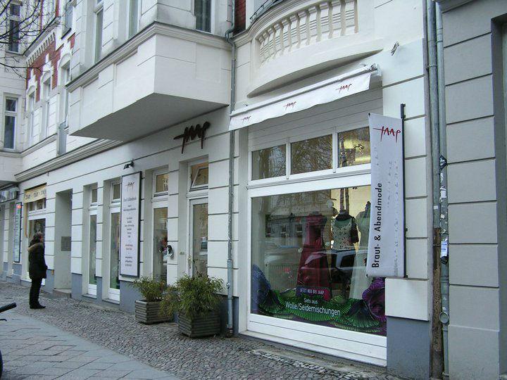 Beispiel: Das Ladengeschäft, Foto: JAAP Abendmode.