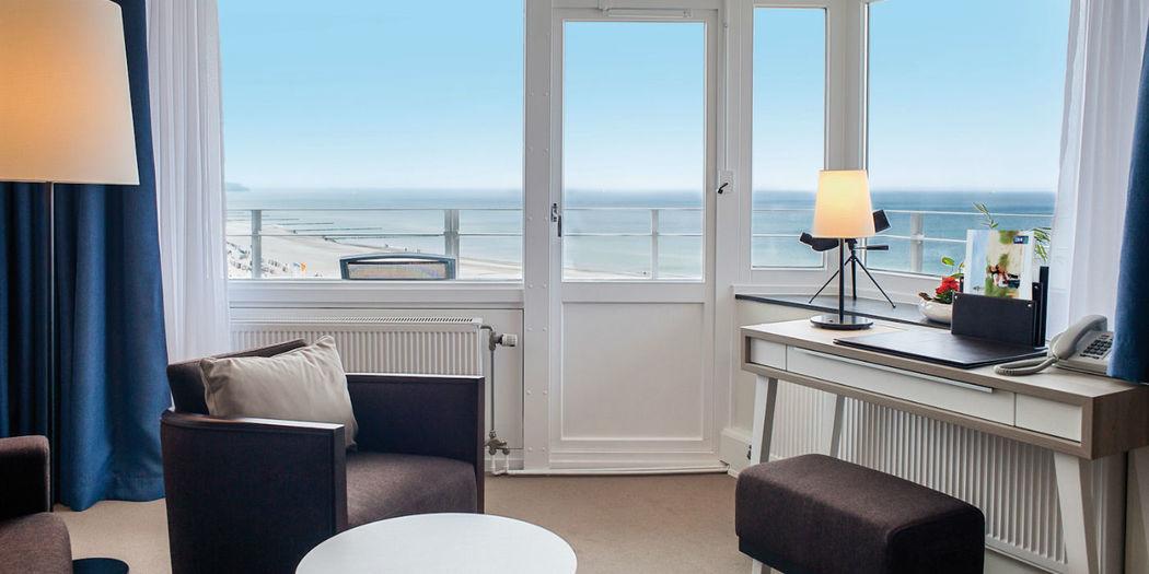 Beispiel: Zimmer mit Blick auf die Ostsee, Foto: Hotel Neptun.