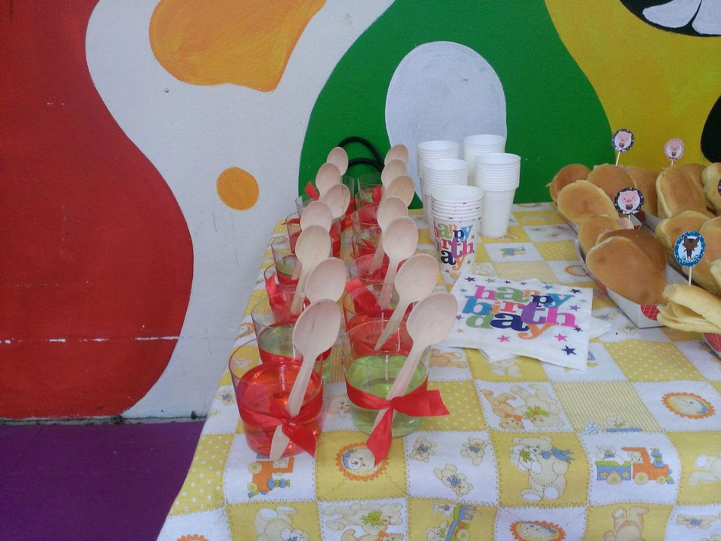 Decoração de mesa de festa infantil