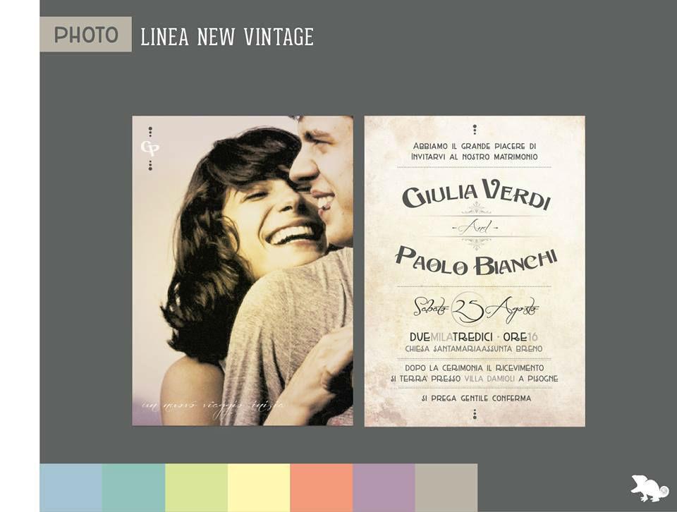 Partecipazione - Vintage Photo Style