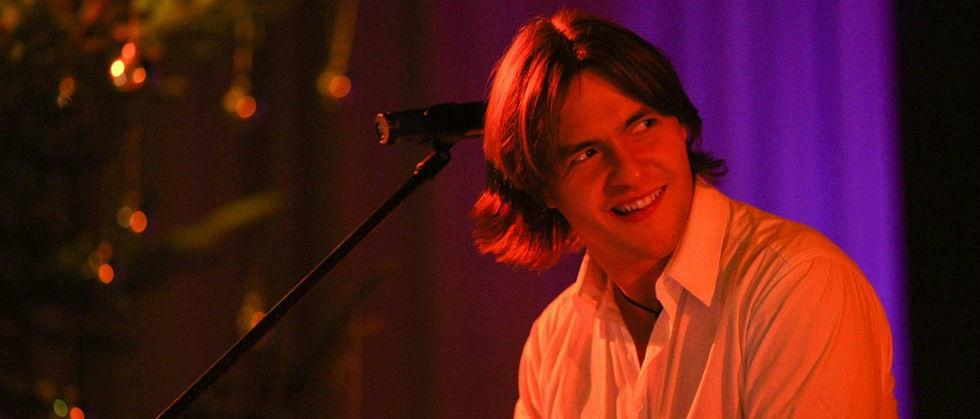 Beispiel: Keyboarder und Sänger: René Schlothauer, Foto: Popsofa.