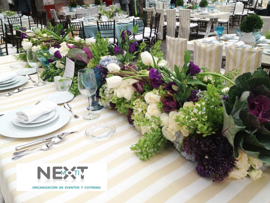 Su boda con nextmotiv_montaje y decoración_arreglos florales