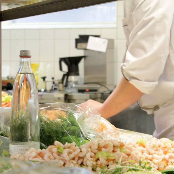 Beispiel: Küche, Fotoo: AKZENT Hotel Saller See.