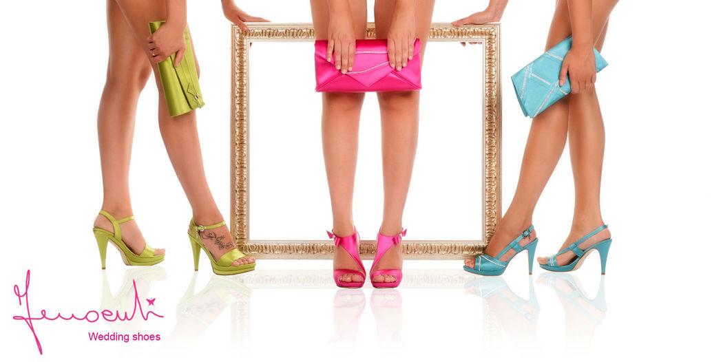 Coordinato scarpe e borsa - campagna pubblicitaria collezione 2014