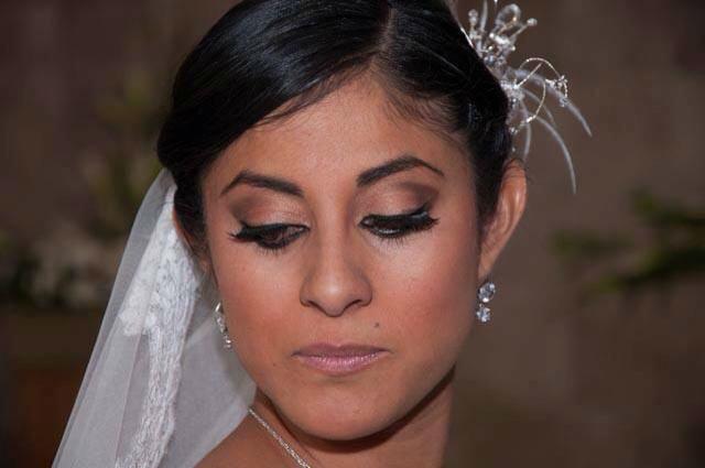 Ericka Fortanelli, maquillista de bodas en el DF