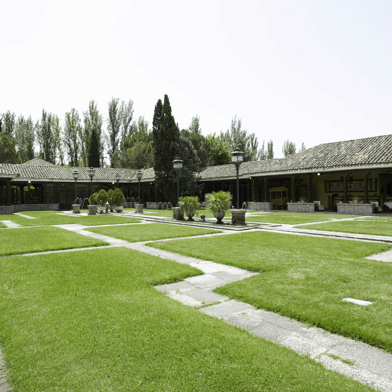 Jardines porches