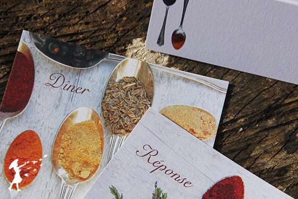 Collection Epices: La collection des couleurs uniques des épices. Aux gourmands aux grands cœurs.