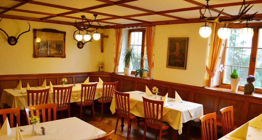 Beispiel: Jagdzimmer, Foto: Hotel Gasthaus Adler.