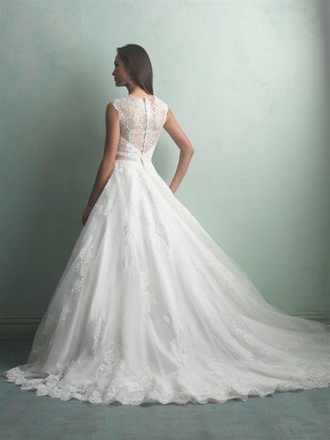Marca: Allure Bridals. Modelo: 9166-espalda.