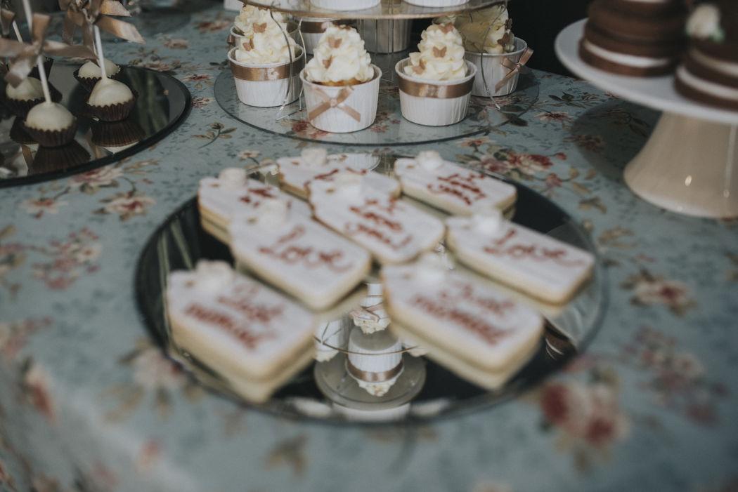 Galletas decoradas con royal icing - glasa real