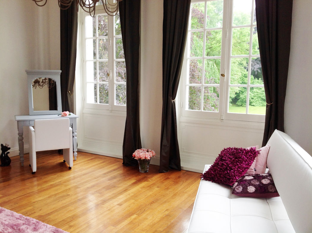 Le Salon de la Mariée le Jour J au Château Blanc Olivier Sinic