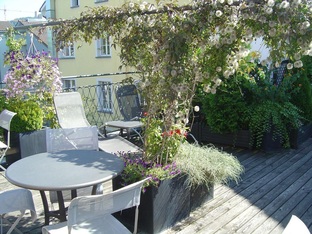 Beispiel: Hotel mit Ausblick, Foto: Hotel Hirschen.