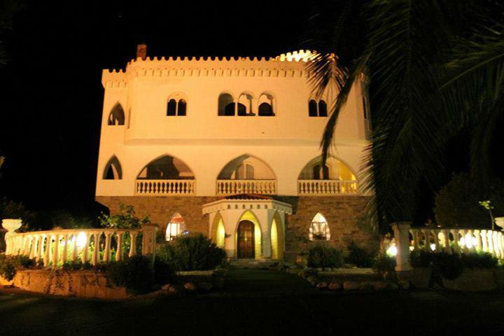 Castello Blasche vista notturna