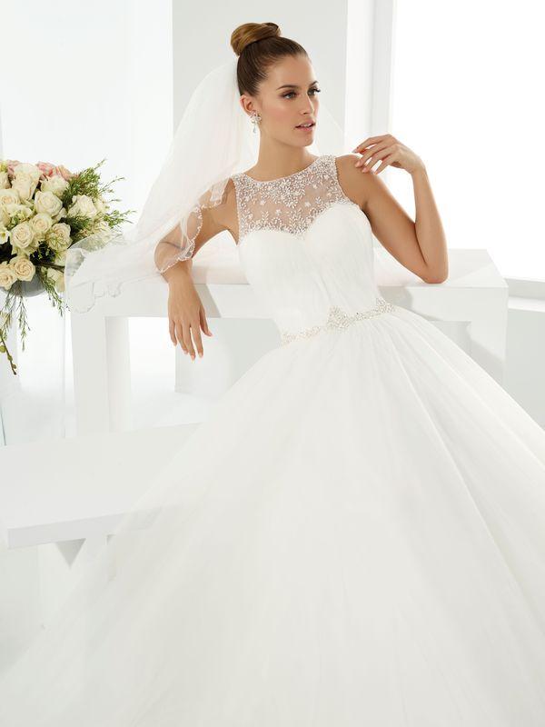 SALSA  ivoire ou blanc - collection Un jour, une mariée